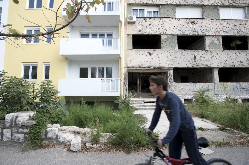 Living on the Edge. Bosnia-Herzegovina.