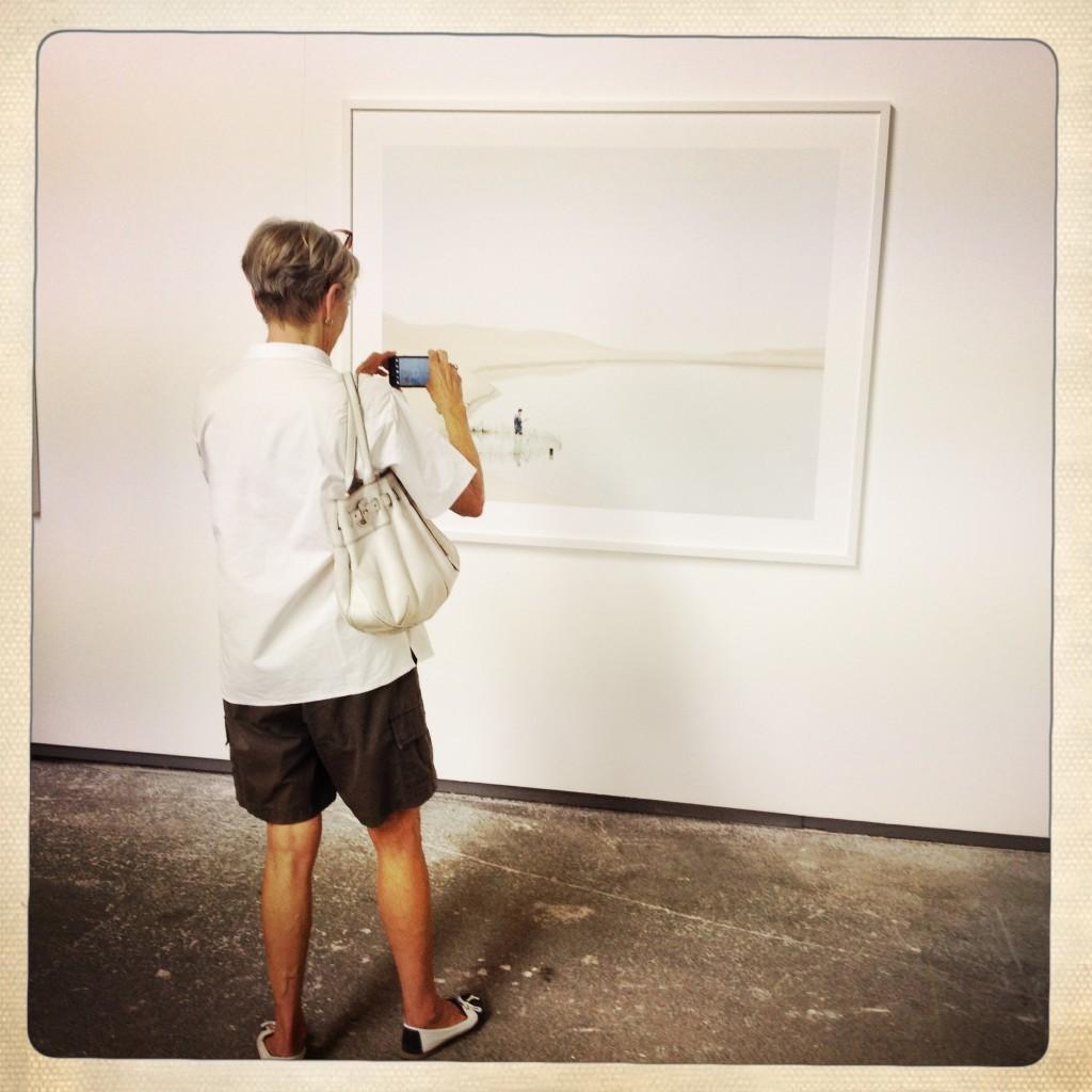 Les Rencontres d'Arles 2014, Kechun Zhang. Atelier de Chaudronnerie. Foto © Mariateresa dell'Aquila.