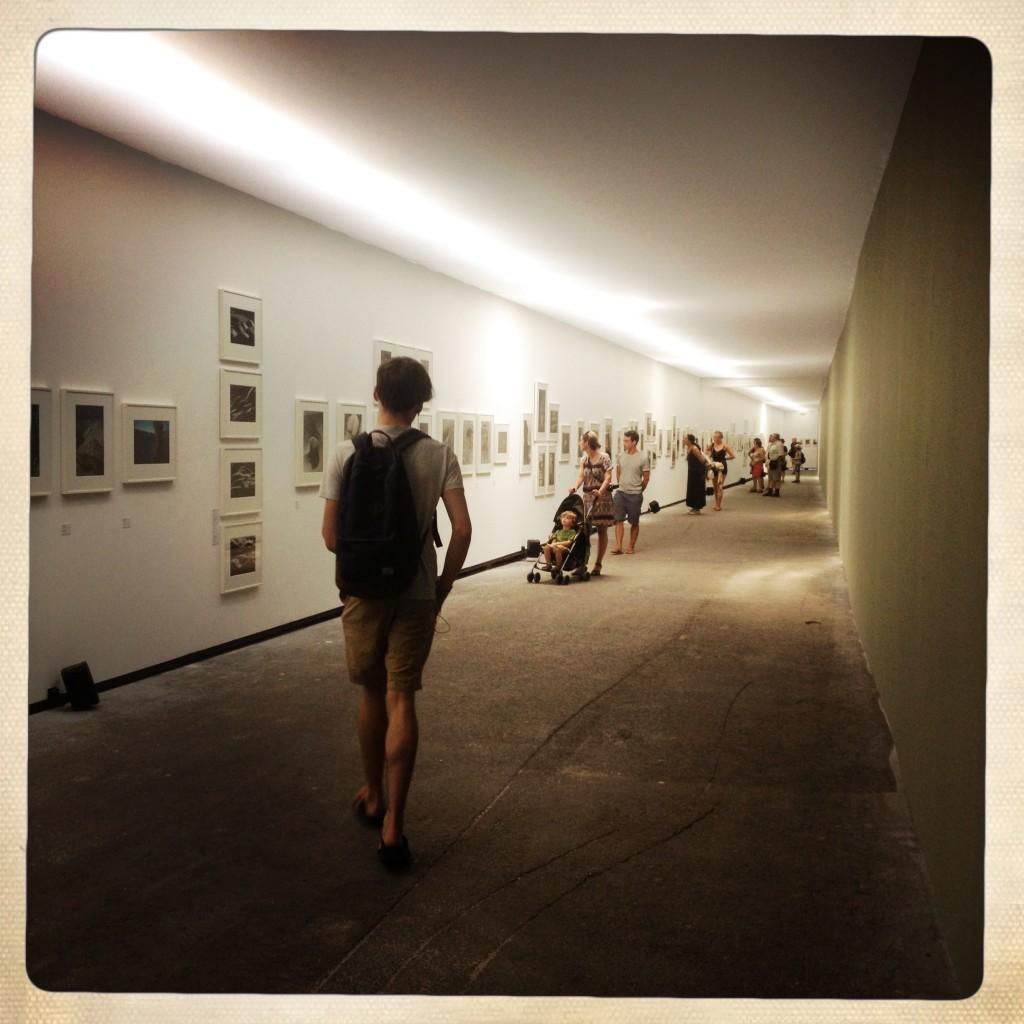 Les Rencontres d'Arles 2014. Atelier de Chaudronnerie. Foto © Mariateresa dell'Aquila.