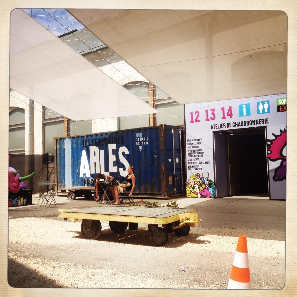 Les Rencontres d'Arles 2014, Atelier de Chaudronnerie. Foto © Mariateresa dell'Aquila.