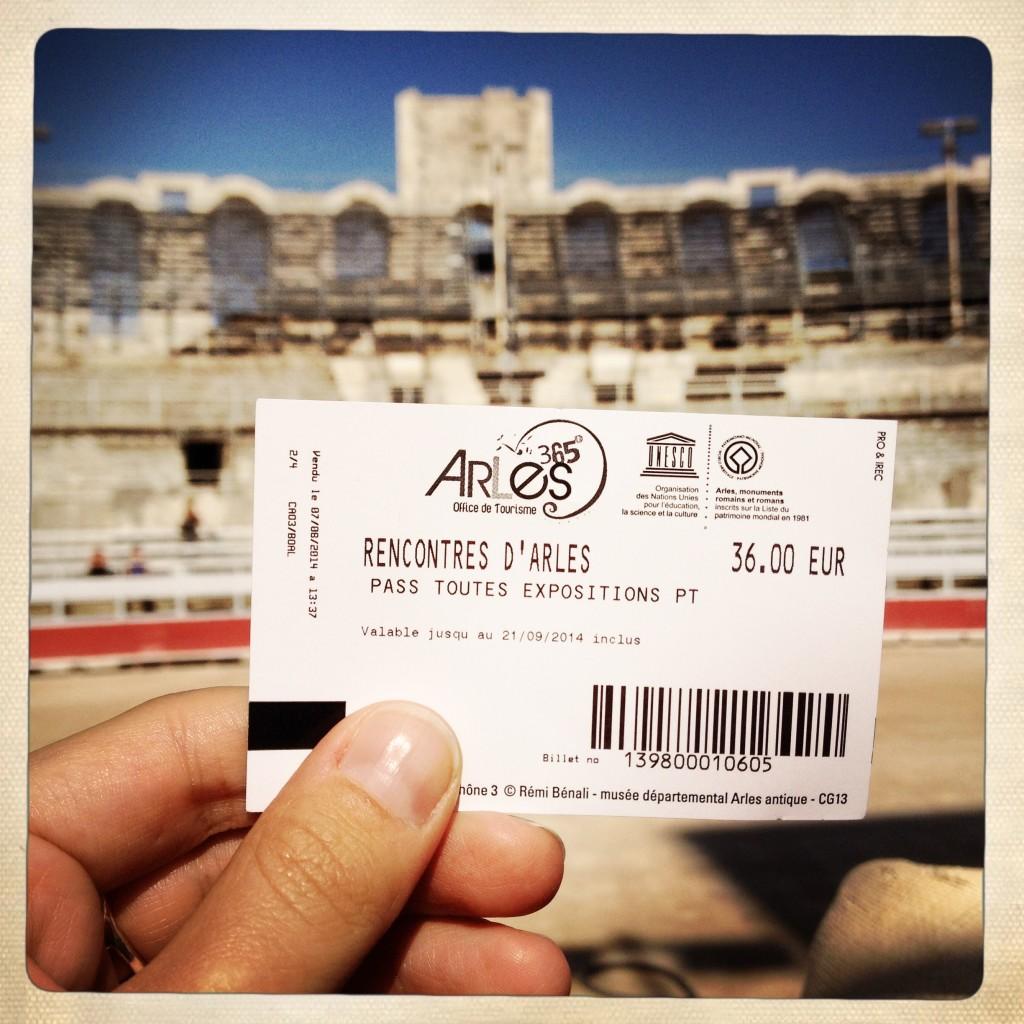 Les Rencontres d'Arles 2014. Foto © Mariateresa dell'Aquila.
