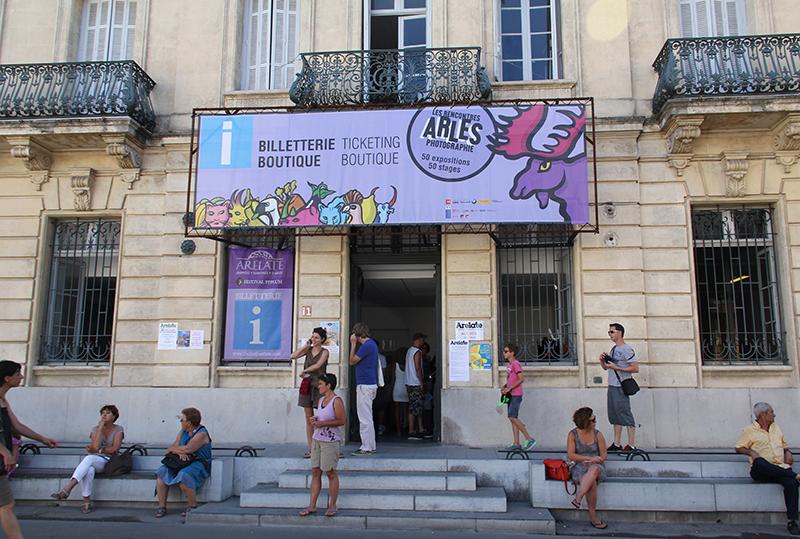 Les Rencontres d'Arles 2014. Foto © Gabriele Magazzù