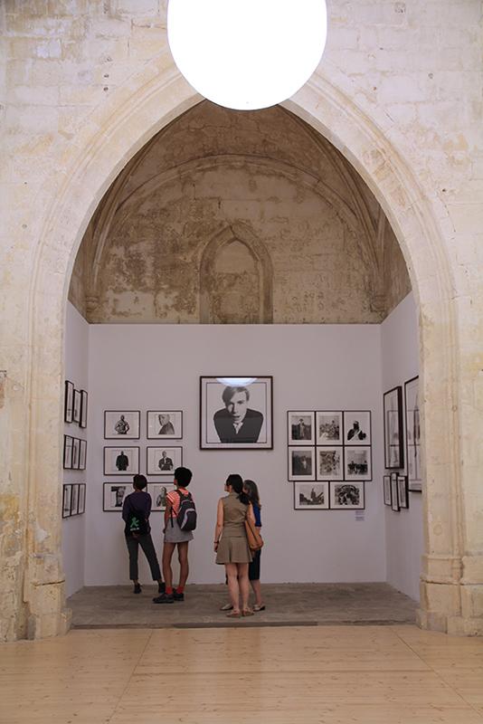 Les Rencontres d'Arles 2014. David Bailey at the Église Saint-Anne. Image © Gabriele Magazzù