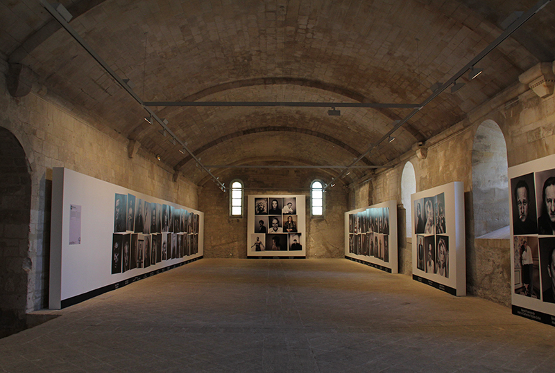 Les Rencontres d'Arles 2014. Patrick Swirc, Abbazia di Montmajour. Foto © Gabriele Magazzù