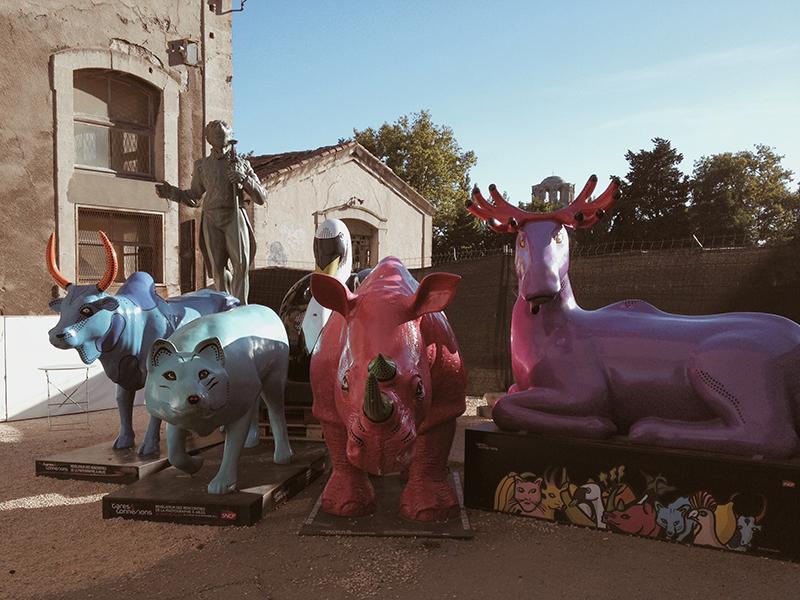 Les Rencontres d'Arles 2014. Parc des Ateliers. Foto © Gabriele Magazzù