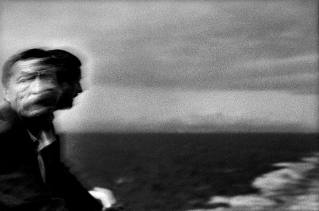 Ferry, Mar Tirreno. 2003. © Lorenzo Castore