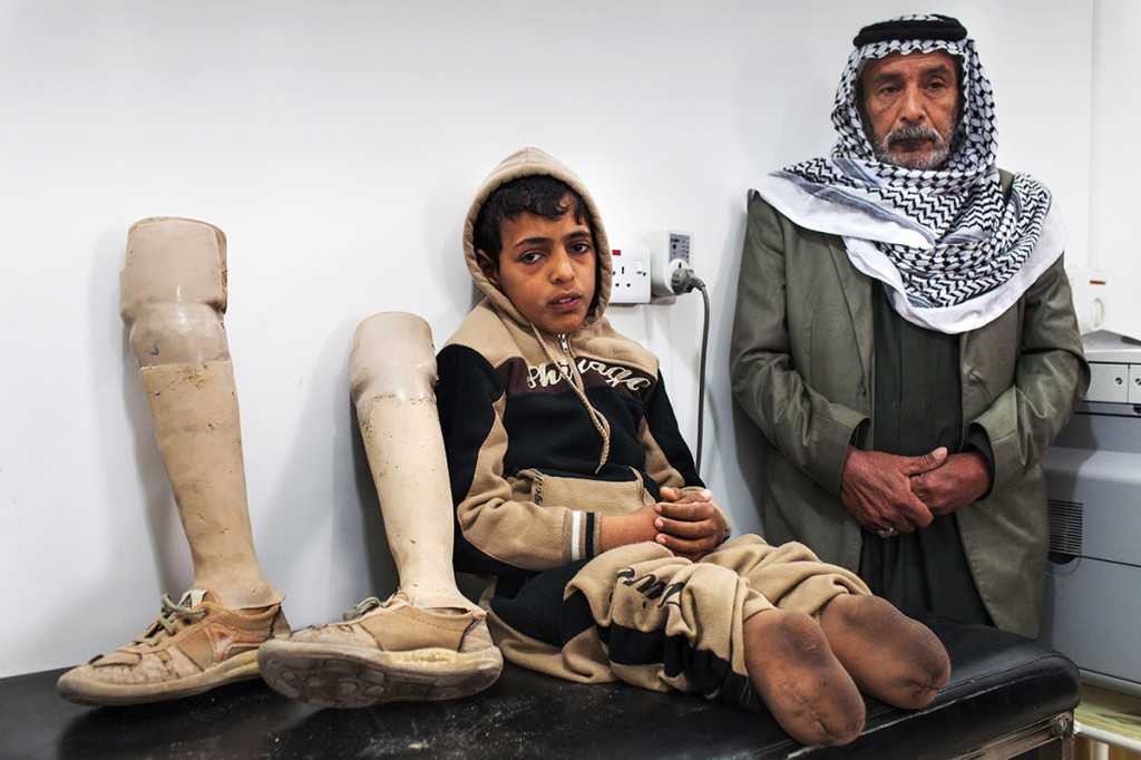 Najaf, Iraq - ICRC's Physical Rehabilitation Center © Marco Di Lauro / Reportage by Getty Images