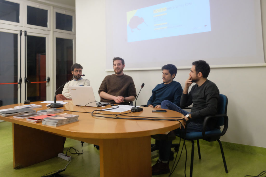 Emanuele Camerini, Tommaso Parrillo, Marco Marucci, Gabriele Magazzù.  © Marco Benna / Phom