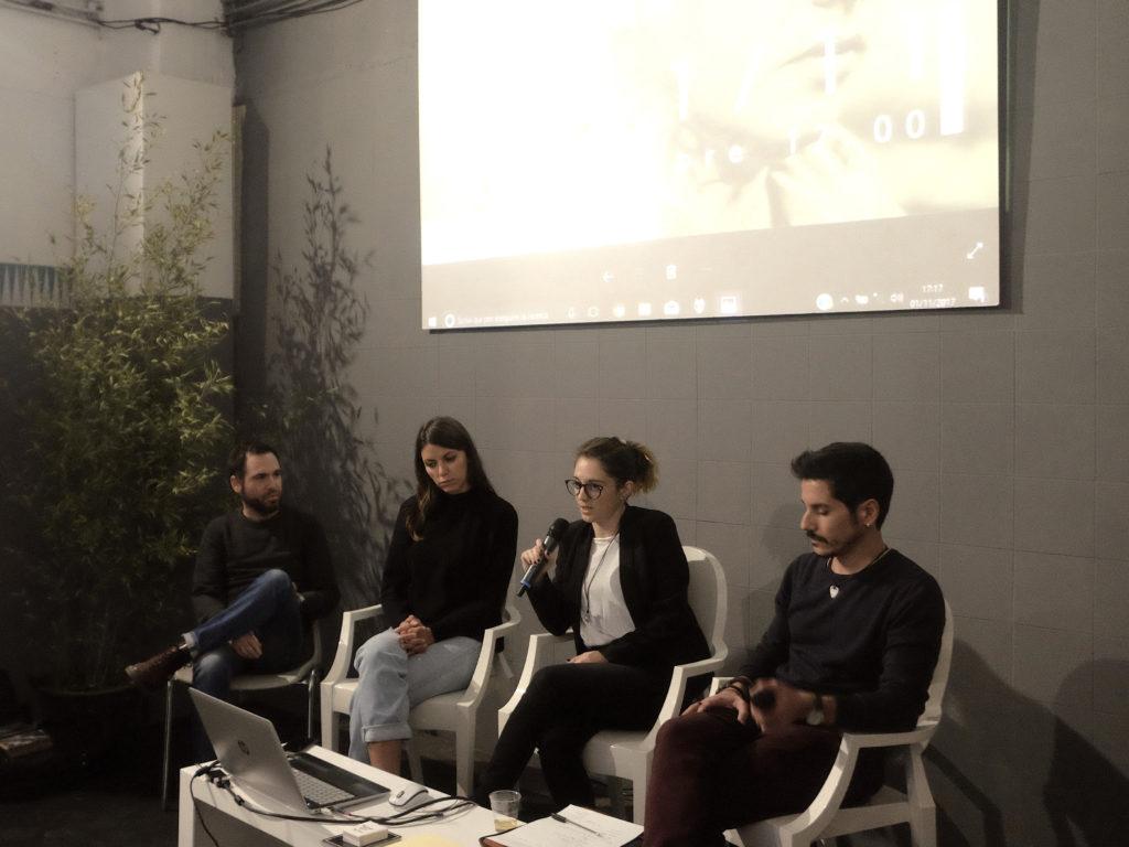 In conversazione con Balter Books: Gabriele Magazzù, Carmen Colombo, Aminta Pierri, Marco Marucci.  © Marco Benna / Phom
