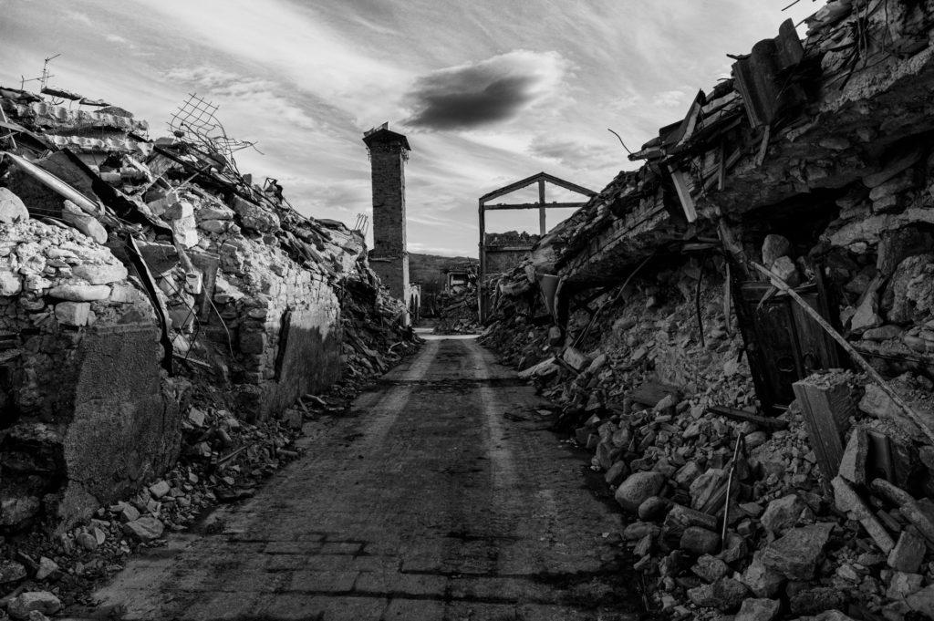 """Gli Spaesati"", Amatrice. © Giovanni Marrozzini"