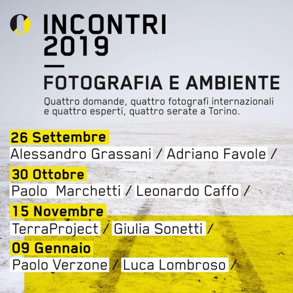INCONTRI 2019 – Fotografia e Ambiente